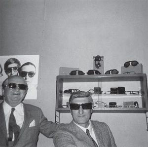 Portrait de Germano Gambini créateur des la marque de lunettes