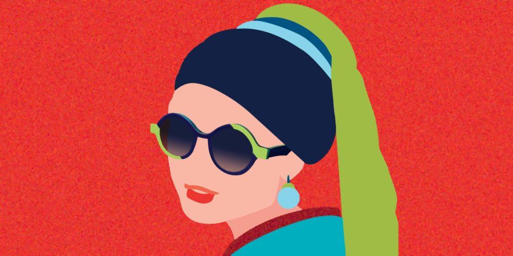 Lunettes Pierre Eyewear pour femme la jeune fille à la perle