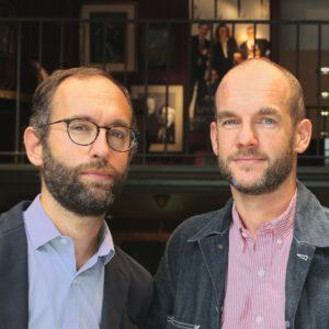 Portrait de Thomas et Matthieur Lafont créateurs de la marque de lunettes Lafont