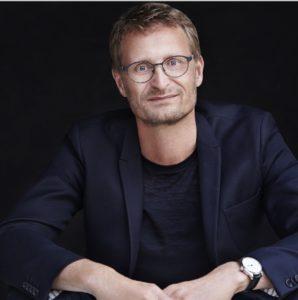 Portrait Jens Willimas Sorensen designer de Nine Eyewear