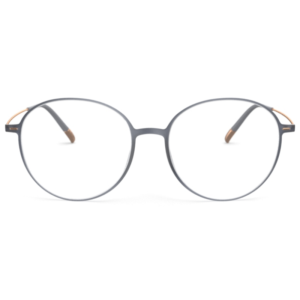 Lunettes Silhouette ronde gris oversize