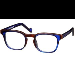 Lunettes de la marque XIT carré écaille et bleue