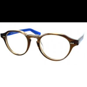 Lunettes de la marque XIT ronde brun et bleue