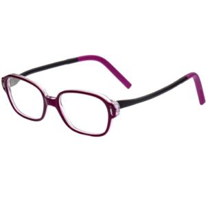 Lunettes Minima violettes pour filles souples et résistantes