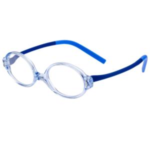 Lunettes minima bleu clair flexibles et incassables