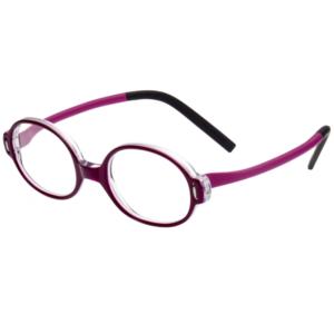Lunettes Minima violette pour enfants très robustes et légères