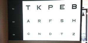 Inauguration de notre salon d'examen de vue