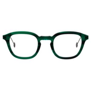Lunettes L.A. Eyeworks carré vert