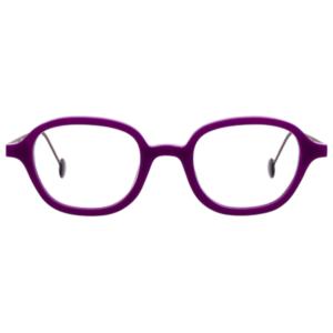 Lunettes L.A. Eyeworks carré violet