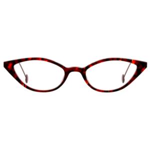 Lunettes L.A. Eyeworks papillon écaille rouge