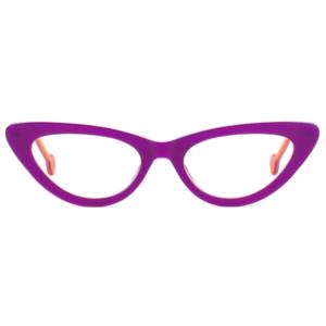 Lunettes L.A. Eyeworks papillon violet