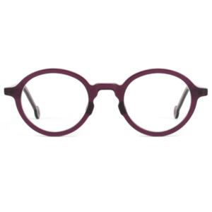Lunettes L.A. Eyeworks ronde violette